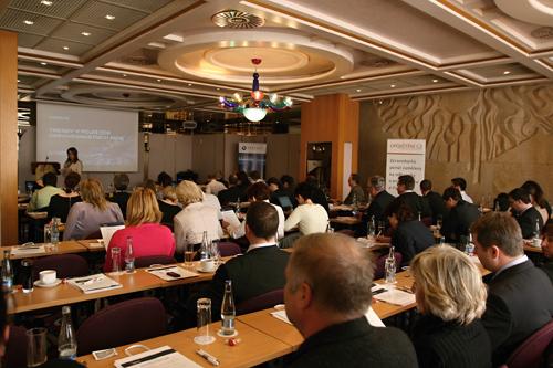 Odborná konference ASPAR, která se zabývala aktuálními tématy z oblasti pojišťovnictví