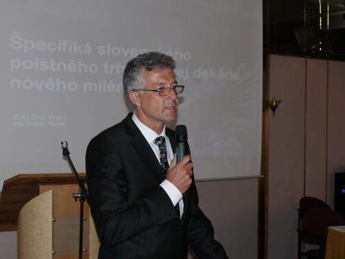 Ing. Dušan Gul'áš, jednatel společnosti Respect SK